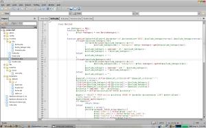 Screenshot Komodo Edit
