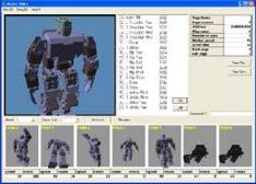 Mengedit gerakan dan sifat robot